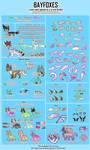 NEW Bayfox Species Sheet [NEW TAILS]