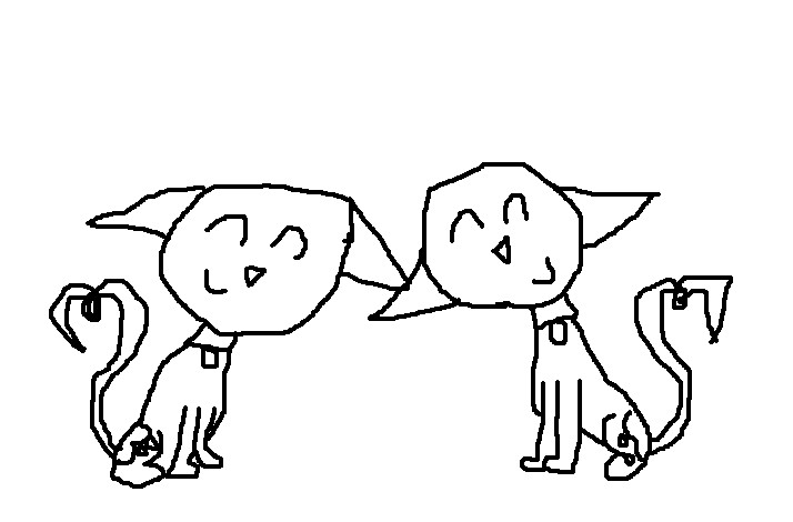kid vs kat coloring pages | Kid vs kat love base coloring by CatillaTheCat2001 on ...