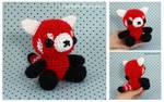 Red Panda Teddy Bear