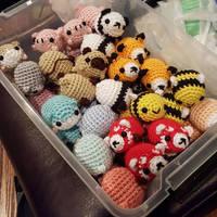 Pill Baby Bucket - Amigurumi Crochet Plushies by syppahscutecreations