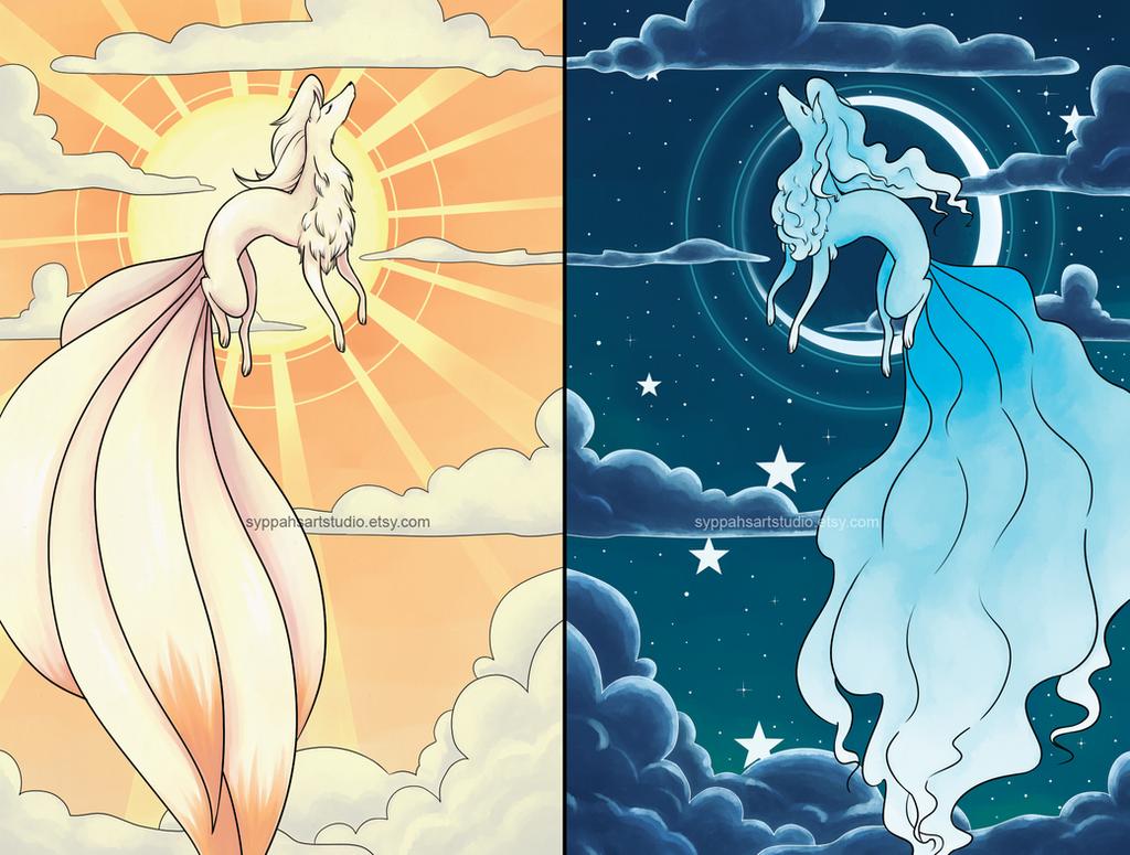 Ninetales by syppahscutecreations