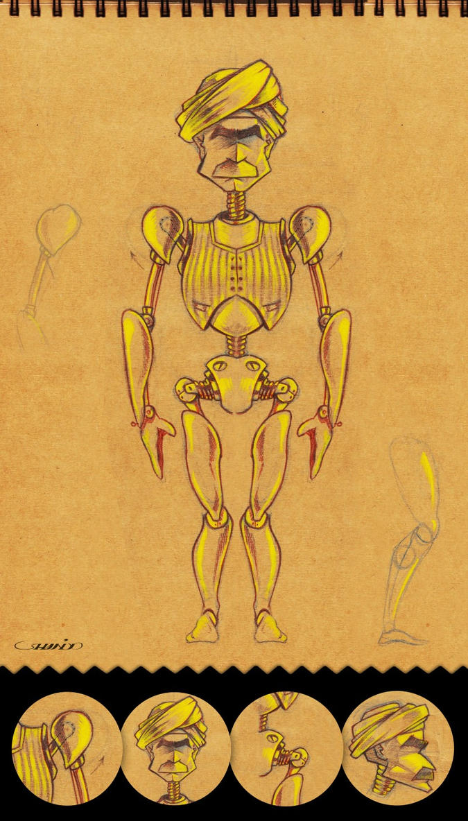 Marionette Puppet Concept by hany4go10