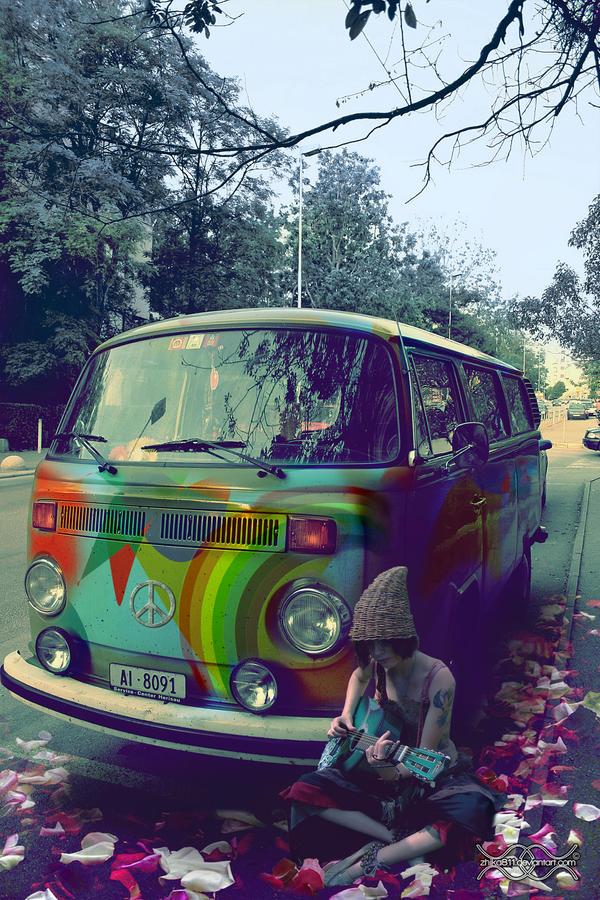 Hippie Van By Zhika811