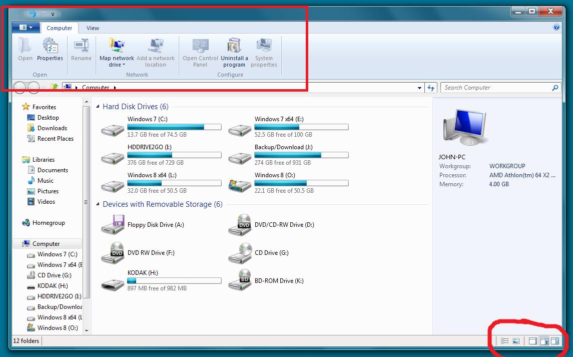 Windows 8 Ribbon UI Full by 3Ricky113 on DeviantArt