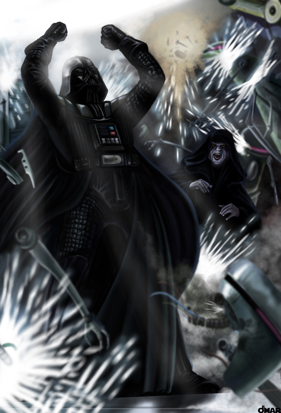 The rise of Lord Vader by OmaruIndustries
