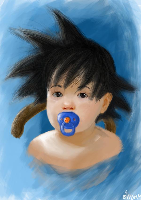 Baby Son Goku by OmaruIndustries on DeviantArt
