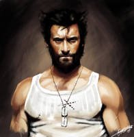 Wolverine Colour Sketch by OmaruIndustries