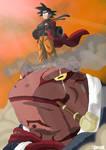Dragon Ball-Naruto Crossover