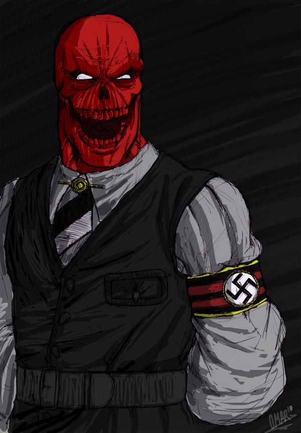Heil RedSkull by OmaruIndustries
