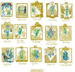 The Legend of Zelda anniversary illustrations by OmaruIndustries