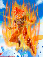 Kakarotto the Super Saiyan God by OmaruIndustries