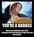YOU'RE A BADASS