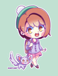 Pokemon Trainer Sword and Shield by WandyCandy