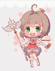 Sakura - Card Captor Sakura Clear Card Fanart by WandyCandy