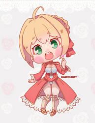 Nero - Fate Extra Last Encore Fanart by WandyCandy