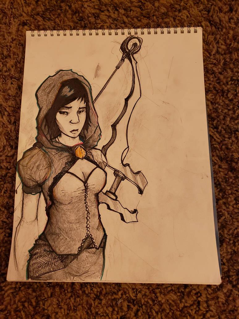 Aimless girl by PhillipTobin