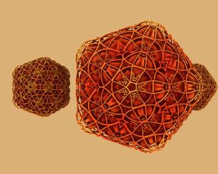polyhedra polyhydra by richardPfeynman