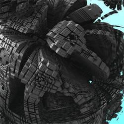 cubist city I HD by richardPfeynman