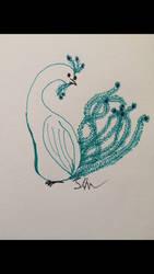 Day 13: Bird by Sternenhimmel-Mond
