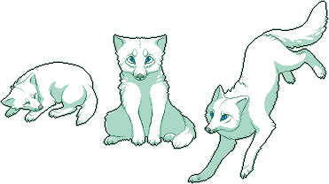 Pixel Fox - Arctic