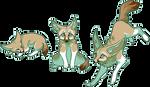 Pixel Fox - Fennec by chertan-koraki