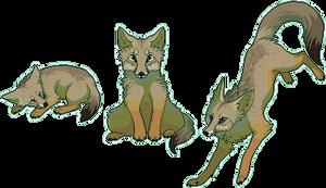 Pixel Fox - Bengal by chertan-koraki