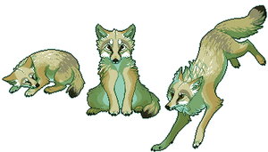 Pixel Fox - Corsac by chertan-koraki
