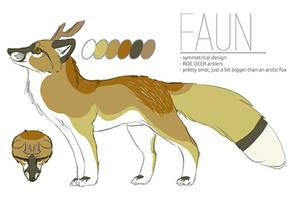 Reference Sheet: Faun by chertan-koraki
