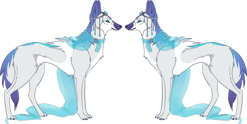Adoptable Redesign for SilverWolfEye by chertan-koraki