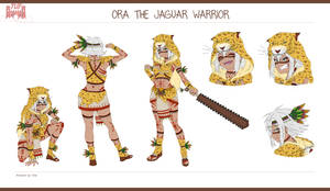 Ora - The Jaguar Warrior(1st Edition) | Chie00Chan by TheUnlimitedFortress