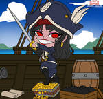 Tesa Chibi - The Pirate Queen (Flats03) NinaLife31 by TheUnlimitedFortress
