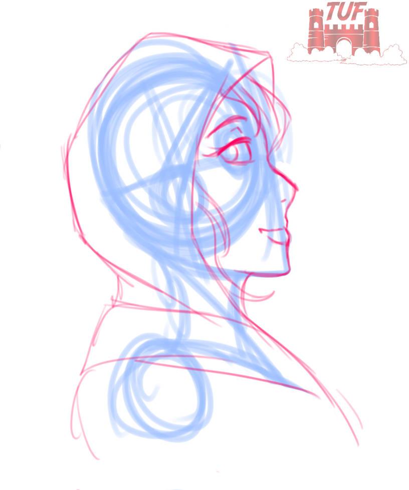 Athena - OC Design (Covert Operative) [Sketch]|