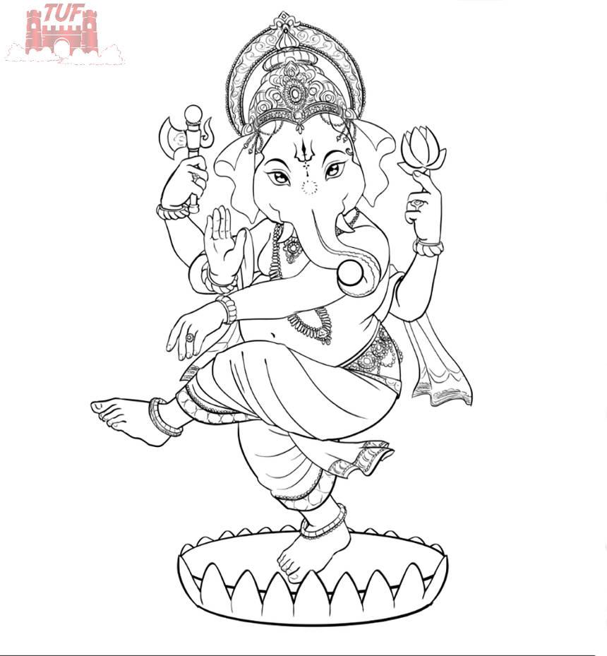 Ganesha | OC Design (Father of Chintamani) [Line]|