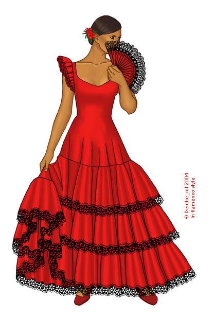 Reviews of different dresses flamenco dress