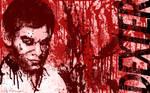 Dexter Bloody Dexter Wallpaper