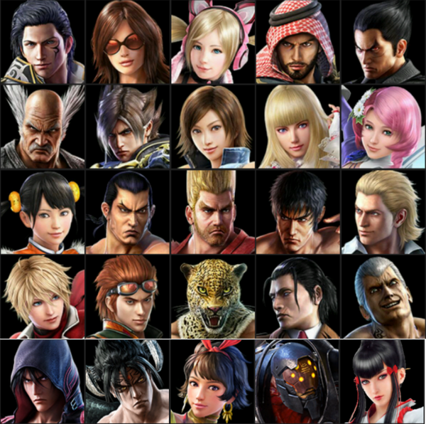 All Tekken 7 Characters That Is In The Game Now By Datflashkid On