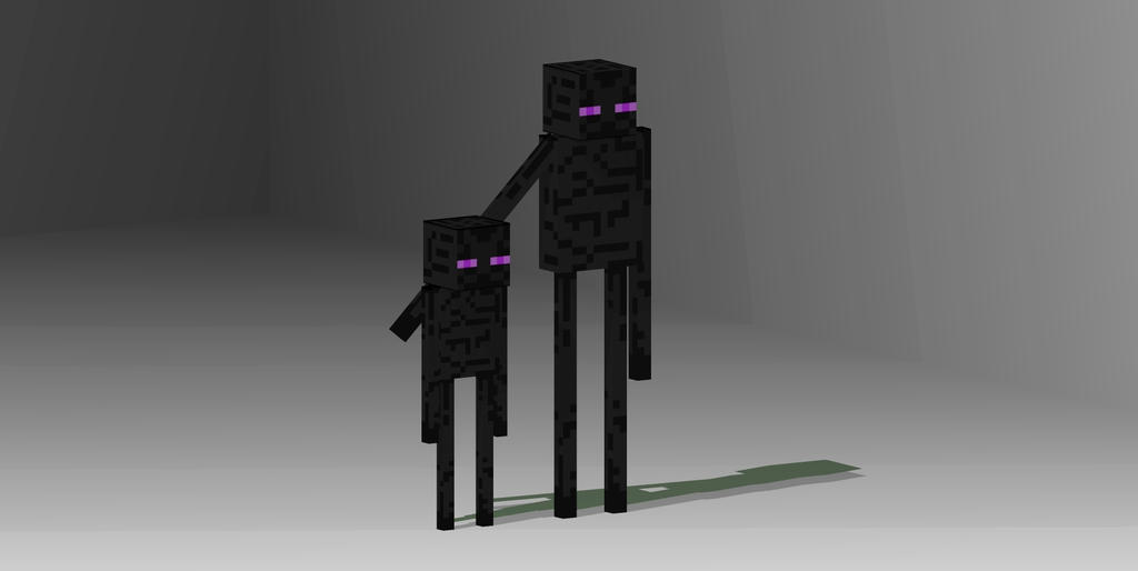 The baby enderman by M...