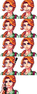 Stardew Valley Custom Portrait for Leah by cparc on DeviantArt