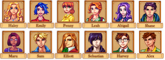 stardew valley anime mod