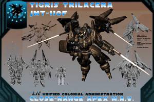 JMT-110F Tigris Trilacera by samurairyu