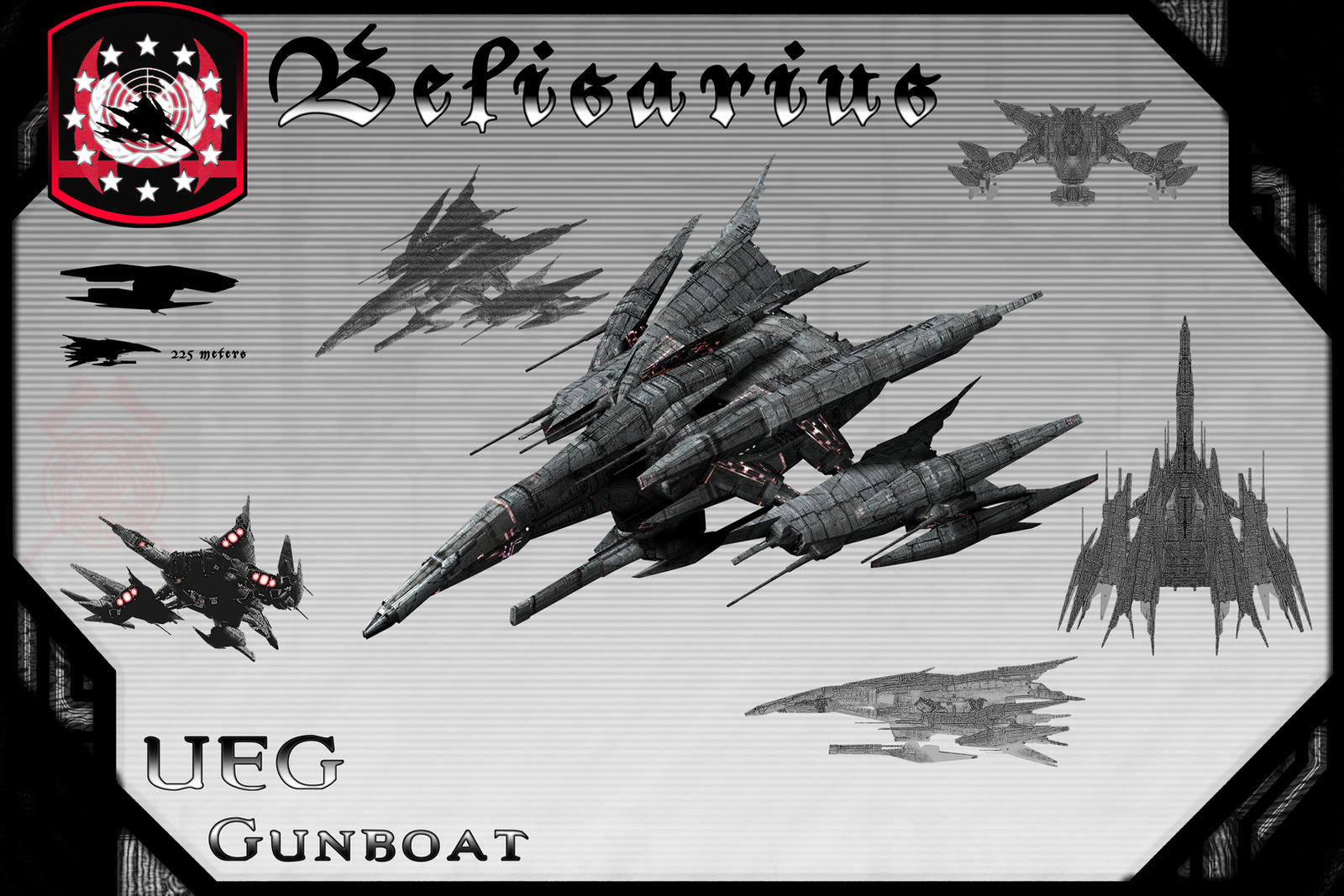 Belisarius Class Gunboat