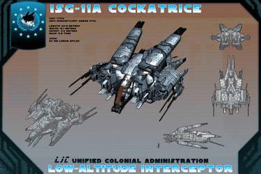 ISG-11A Cockatrice by samurairyu