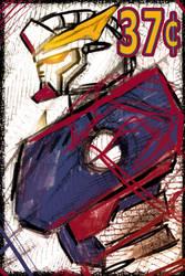 Speed Paint Gundam Stamp 37 cents