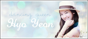 hyoyeon banner by SNSDartwork