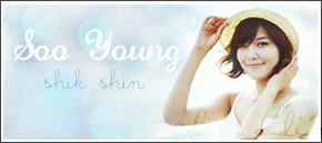 sooyoung banner by SNSDartwork
