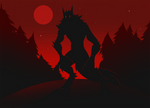 Werewolf Under The Blood Moon