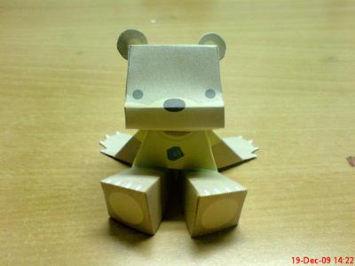 Rommy Bear by sinnershizuka