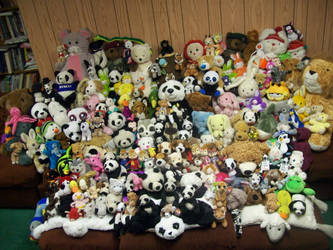 Stuffed Animal Group Photo by Dvid1