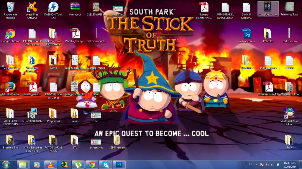 Wallpaper South Park: Stick Of Truth By Dragonnjmb On
