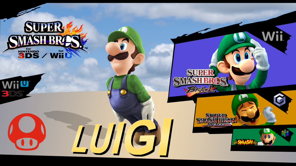 Evolution of Luigi Evolution Luigi by Dragonnjmb